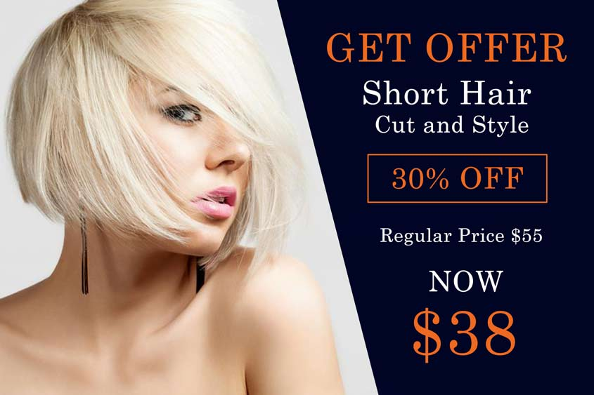 SHORT HAIR CUT AND STYLE